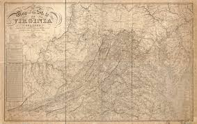 Map Virginia Maps Of Old Virginia And Jefferson County West Virginia
