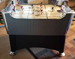 rod hockey table reviews halex nhl elite rod hockey table game black and silver laminate