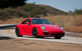 red porsche truck 2011 porsche carrera gts first test motor trend