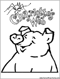 Charlottes Web Coloring Pages Funycoloring Web Coloring Pages
