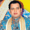 Rahul Mahajan Rahul, son of late Bharatiya Janata Party (BJP)
