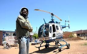 this zimbabwean built a helicopter in his backyard techunzipped news