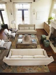 Two Sided Couch Family Room Furniture Layouts