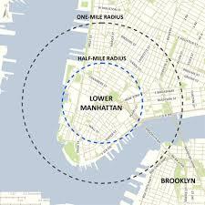 downtown manhattan map lower manhattan nycedc