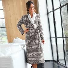 robe de chambre amazon robe de chambre femme polaire