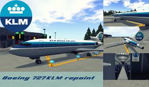 second life marketplace klm paint for boeing 727