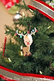 reindeer photo ornament christmas card and giveaway