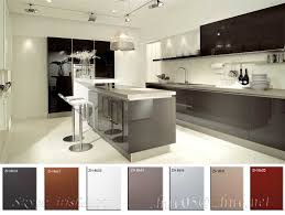 acrylic high gloss kitchen cabinet door buy glass front cabinets