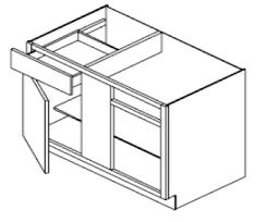 white shaker corner kitchen cabinet bbc42 sa