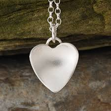silver pendant necklace handmade images Silver handmade heart necklace by alison moore designs jpg