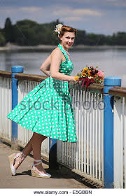 1950s vintage dress stock photos u0026 1950s vintage dress stock