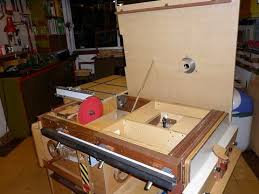 how to build a table saw workstation hector s router lift