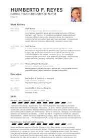 Resume For Charge Nurse Staff Nurse Resume Samples Visualcv Resume Samples Database