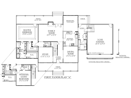 bureau gratuit plan maison type américain fonctionnelle et pièce à vivre bureau