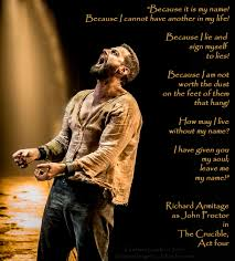 experiencing the crucible starring richard armitage via dt u0026 2015