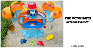 casa moncada fisher price octonauts octopod playset review