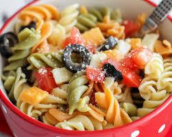 pasta slad easy pasta salad recipe lil luna