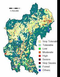 Soil Maps Assessment Of Soil Erosion Potential In Korea