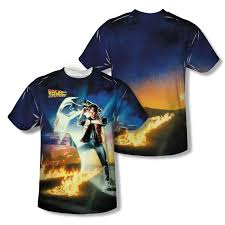 to the future movie poster all over t shirt