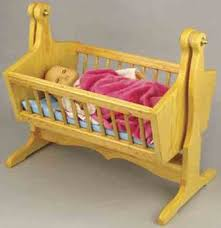 Free Woodworking Plans For Baby Crib by Doll Cradle Plans Includes Free Pdf Download
