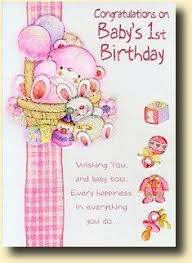 baby s 1st birthday card invitation sles images of beautiful baby