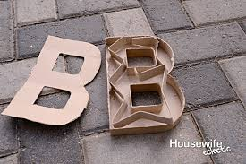 diy marquee letters for halloween housewife eclectic
