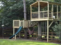 Backyard Zip Line Ideas Tree Houses With Zip Lines Pictures 3 Jpg Image Jpeg 1000 750