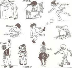 english exercises present progressive teaching pinterest