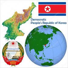 World Globe Map North Korea In Globe Map U2014 Stock Vector Jrtburr 85970284
