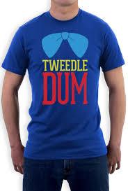 tweedle dum costume t shirt matching couples halloween party super