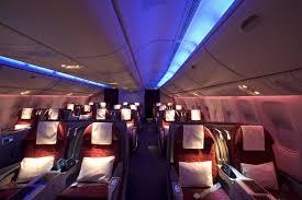 Boeing 777 Interior Qatar U0027s Denser 777 Shows Gulf Widening Between Business Economy