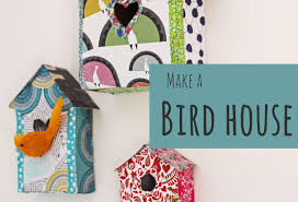 how to make a decorative bird house youtube