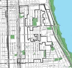 40th ward chicago map city of chicago bronzeville tif