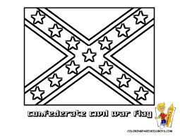 confederate flag coloring pages book for boys 811967 coloring
