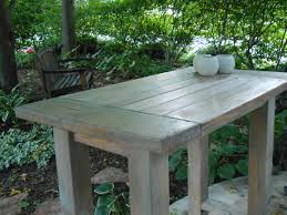 Farm Table Kitchen Island by Ana White Farmhouse Table Modified To Become An Outdoor Kitchen