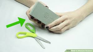 5 simple ways to sharpen scissors wikihow