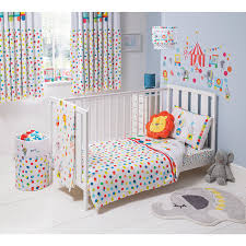 Circus Crib Bedding Buy George Home Circus Nursery Range From Our Baby Bedding Range
