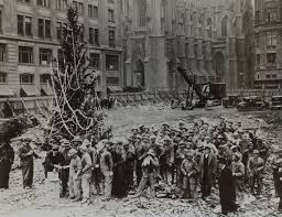 the first christmas tree at rockefeller center new york