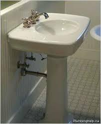cost of pedestal sink install bathroom sink plumbing under kitchen sink drain plumbing how