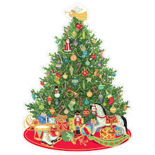 oh tree advent calendar 1 each caspari