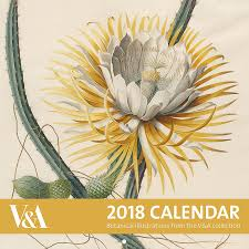 botanical calendars v a botanical illustrations calendar 2018
