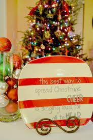 dollar tree christmas plate