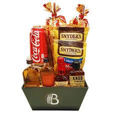 bourbon gift basket custom las vegas gift baskets las vegas gift basket delivery