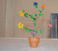 how to make a tree using crystal beads youtube