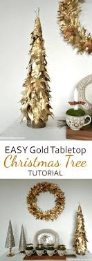 small table top decorated trees pre artificial tabletop