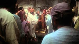 jesus english ressurected jesus appears to his disciples youtube