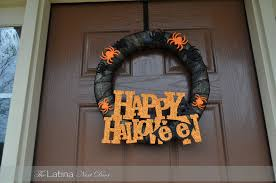 halloween wreath transparent background crafts for the home archives the latina next door