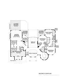 Spanish Home Plans by Houseplns Of Luxury Second Story Floor Plan For The Sims 3 House