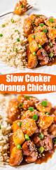 slow cooker orange chicken averie cooks