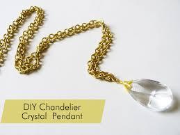 crystal necklace diy images Thanks i made it diy vintage chandelier crystal necklace png